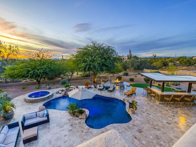 Photo for Heated Pool, Spa, putting green, video game & more @ Sonoran Foothills Retreat - By Padzu A T...