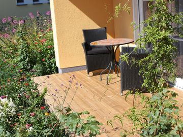 modern apartment, incl. Sauna in the house and paddle boat use, Wi-Fi for free - Dianthus
