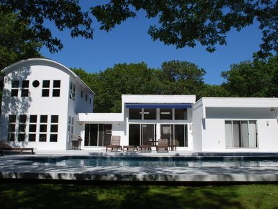 Photo for Hamptons - Beautiful 5 Bdrm With Pool & Har-Tru Tennis On Lush 2 acres