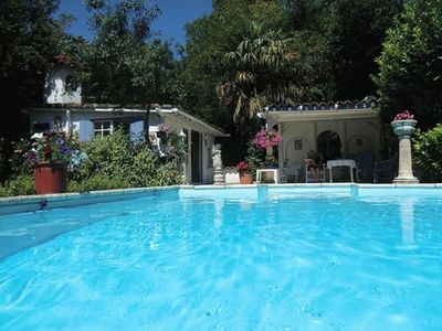 Photo for Beautiful former watermill with pool