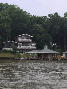 Photo for Beautiful lake front home on Lake Tillery