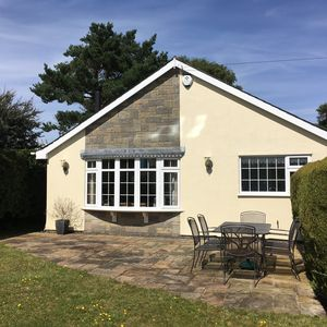 Photo for Beautiful detached spacious bungalow with gardens and close to Black Rock Sands