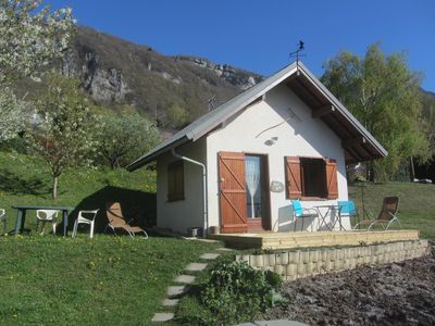 Photo for Small Maisonette on hills exposed south of the Bauges massif in Savoy
