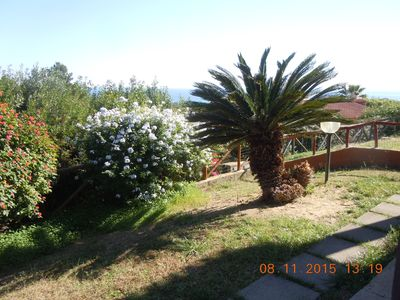 Photo for House Sea view, fresh, with garden in Costa Rei, Pet Friendly.