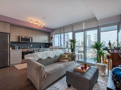 Photo for Modern Downtown Condo - 1BR + 1BA + Sofabed