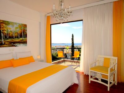 Photo for Voula Luxury Sea View aprt. 3 bdrm. 2bathr. sleeps 6