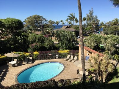 Photo for Oceanview Condo, Great Location, Sleeps 4, Across Beach! Youtube video available