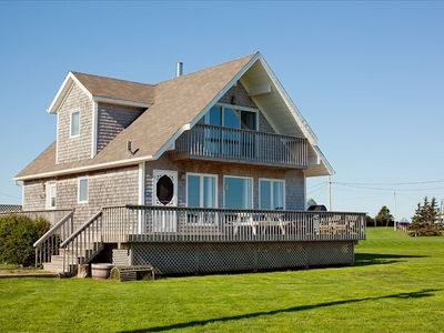 Photo for Seaview Chalet, 4 Star, 3 Bedroom Cottage, Ocean Views, Pei