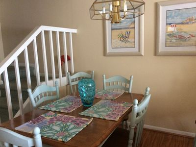 Photo for Relax In A Lake Front Townhouse Minutes From The Beach