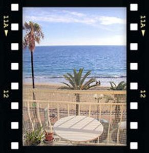 Photo for Apartment with sea view. 5 meters from sand. 5 min. to the centre
