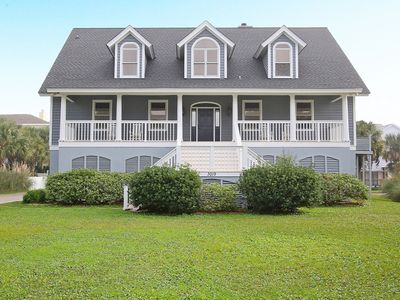 Photo for Gorgeous 6 Bedroom Beach House Steps From The Ocean