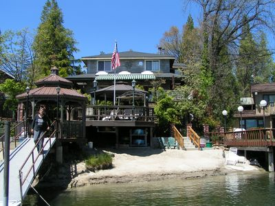 Photo for Huge 7 Bedroom Lakefront Home w Private Boat Dock