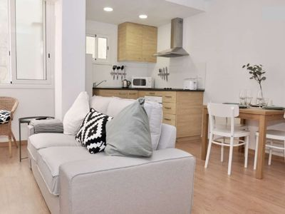 Photo for Charming apartment in L'hospitalet de Llobregat. Wifi free!