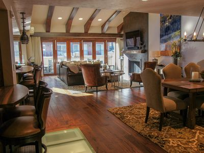 Photo for Luxury 3BR/5Bath Condo @ Top of Historic Main Street w/ Private Hot tub on roof!