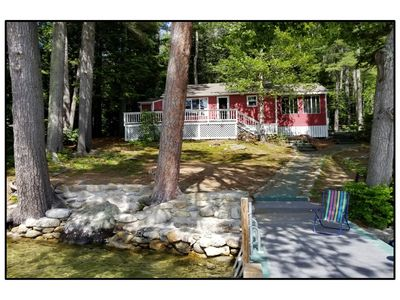 Photo for ROBERTS COVE Private Waterfront Cottage - Lake Winnipesaukee