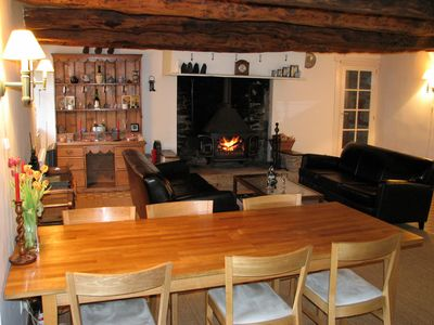 A large chestnut beamed lounge/diner provides plenty of space to eat and relax