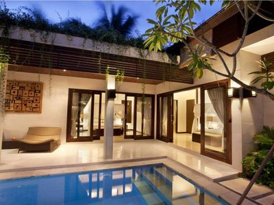 Photo for Villa 88 · 2BR PrivatePool Garden Villa Central Seminyak Bali