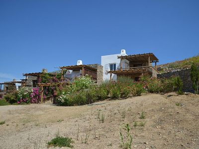 Photo for Cozy Lia Beach House, in Mykonos, with sea view, 3 bedrooms, 6 sleeps