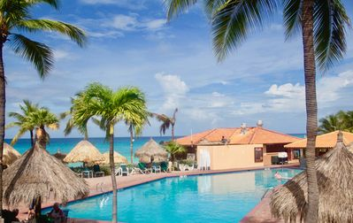 Photo for Pool Side Superior Luxury Condo At The Aruba Beach Club Week 51 Timeshare