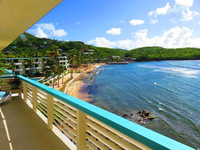 Photo for Come to Paradise in Bolongo Bay, St Thomas