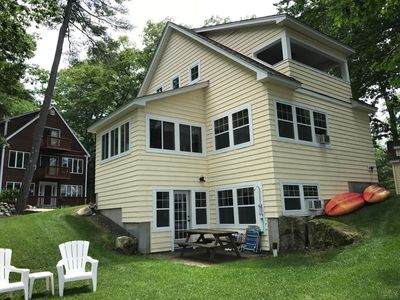 Photo for Charming Cottage on Beautiful Sebago Lake Basin
