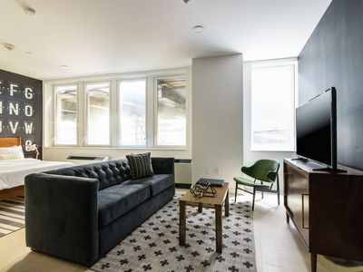 Photo for Sonder | Wall Street | Intimate 1BR + Laundry