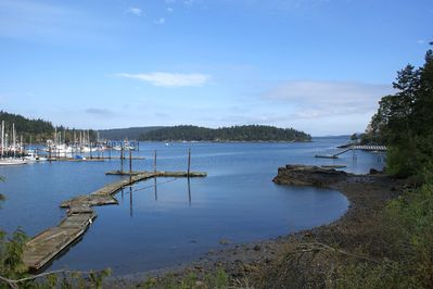 Water View - View of Shipyard Cove and Brown Island from property.