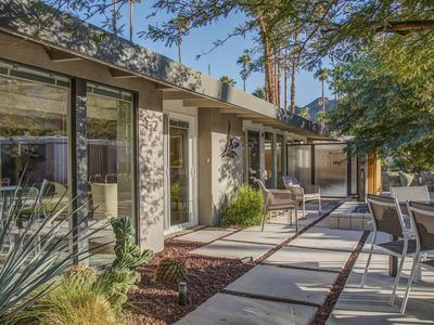 Photo for Designer Remodel Mid-Century Cottage in Rancho Mirage