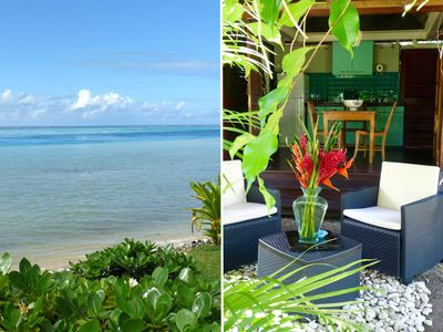 Fare Ava'e in Poerani Moorea property with sea front