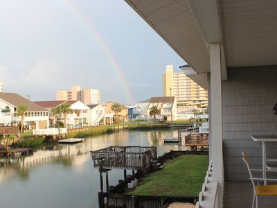 Photo for Updated Cherry Grove Beach House **NEW Floating Dock**
