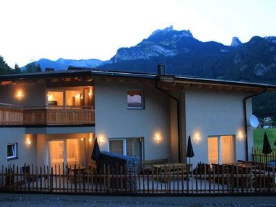 Photo for Mountain view - Apartments Karwendel-Camping