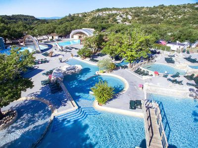 Photo for Apartment Camping Caravaning  in Saint - Alban - Auriolles, Ardèche - 6 persons, 3 bedrooms