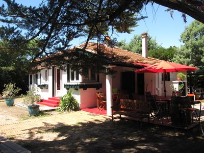 Photo for Pointe du Cap-Ferret: House of character with swimming pool in the pine forest of 44 pm
