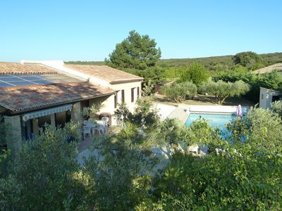 Photo for Family villa in a secured property with heated pool