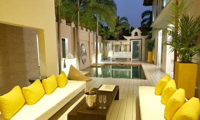 Photo for Amaya Villa with pool, modern style 3 bedroom ensuite with bath