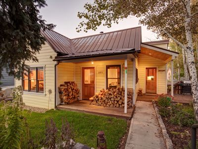 Photo for Abode at Silver Mountain | Easy walk to Historic Main Street! Private hot tub | close to town lift