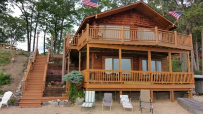 Photo for Special June rates.  Waterfront House On Fife Lake