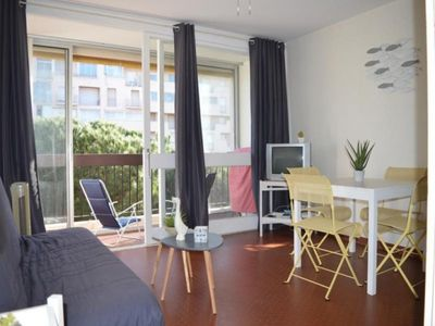 Photo for Apartment Saint-Cyprien (Pyrénées-Orientales), studio flat, 3 persons