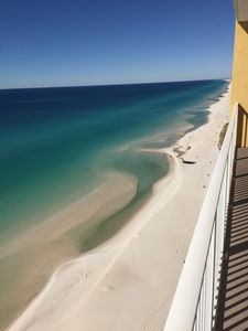 The breathtaking view from your balcony...you won't want to leave!