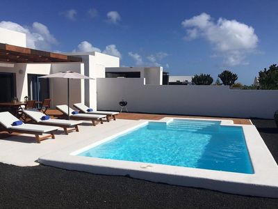 Photo for Villa Miramar B2, heated pool, wifi, air conditioning, with views