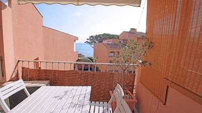 Photo for Studio 2/4 persons - Sea view - Air conditioning - WiFi - Town center and beach - Sainte-Maxime