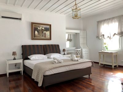 Photo for Relax in a traditional neoclassical villa in Andros