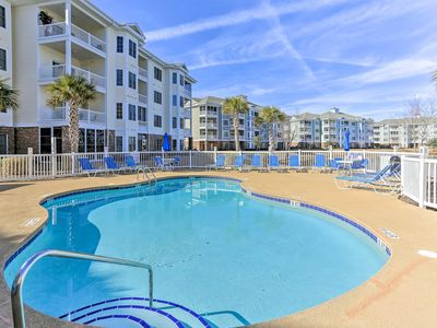 Photo for Myrtle Beach Condo w/ Pool Access by Golf Course!