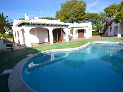 Photo for Minorcan house near the beach with pool