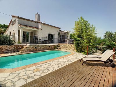 Photo for Bright air-conditioned villa near Mougins - Cannes - Grasse
