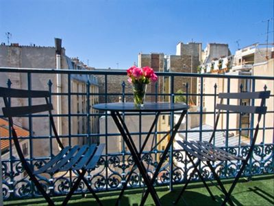 Your balcony overlooking Montmartre