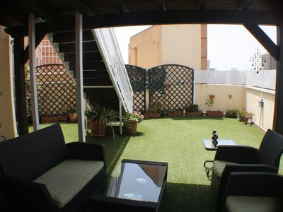 Photo for Penthouse in historic center of Malaga with large terrace