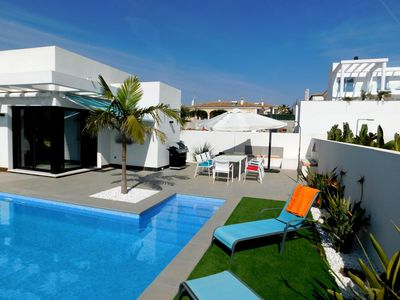Photo for Brand New 4 Bedroom Detached Villa with Pool in  Calle San Francisco de Asis