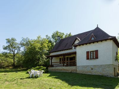 Photo for House with huge private grounds in the fine surroundings of Labastide-du-Vert.