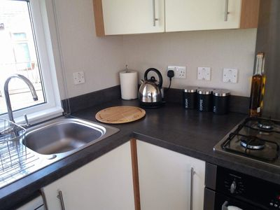 Photo for Luxury Lodge, Golf & Leisure included, Dogs Allowed